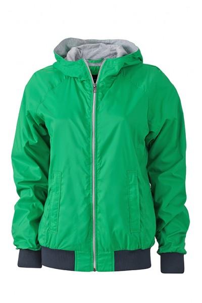 Ladies' Sports Jacket, Jacken, fern-green/navy