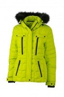 Ladies' Wintersport Jacket, Jacken, acid-yellow/black