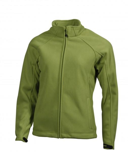 Ladies' Bonded Fleece Jacket, Jacken, green/navy