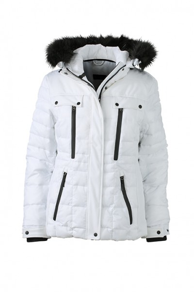 Ladies' Wintersport Jacket, Jacken, white/black