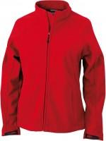 Ladies' Bonded Fleece Jacket, Jacken, red/carbon