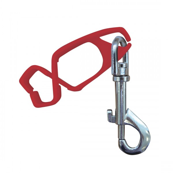 Handschuh-Clip Red, 40 Stk. (VE)