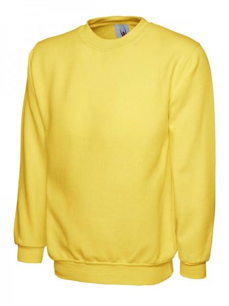 Classic Sweatshirt UC203, gelb