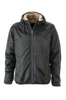 Men's Winter Sports Jacket, Jacken, black/camel