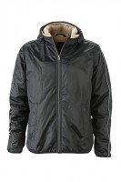 Men's Winter Sports Jacket, Jacken, black/camel