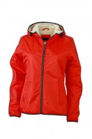 Ladies' Winter Sports Jacket, Jacken, light-red/off-white