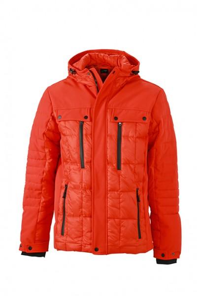 Men's Wintersport Jacket, Jacken, grenadine/black