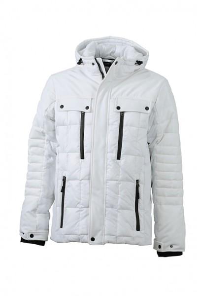 Men's Wintersport Jacket, Jacken, white/black