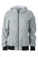 Ladies' Sports Jacket, Jacken, silver/black