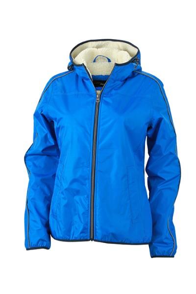 Ladies' Winter Sports Jacket, Jacken, royal/off-white