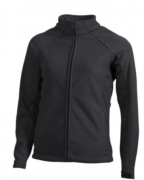 Ladies' Bonded Fleece Jacket, Jacken, carbon/black