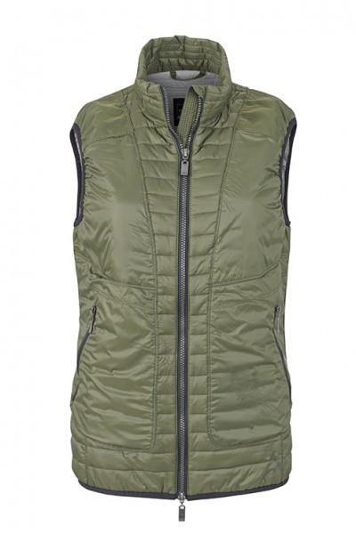 Ladies' Lightweight Vest, Westen, olive/silver