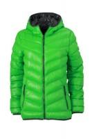 Ladies' Down Jacket, Jacken, green/carbon