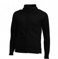 Ladies' Bonded Fleece Jacket, Jacken, black/red