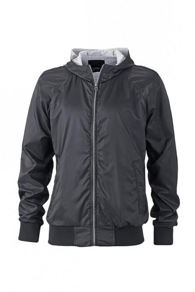 Men's Sports Jacket, Jacken, black/black