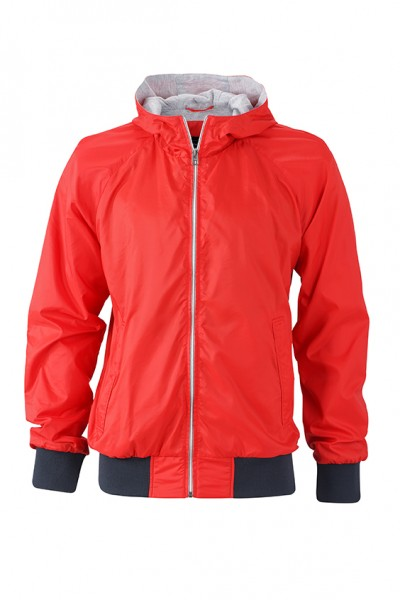 Men's Sports Jacket, Jacken, light-red/navy