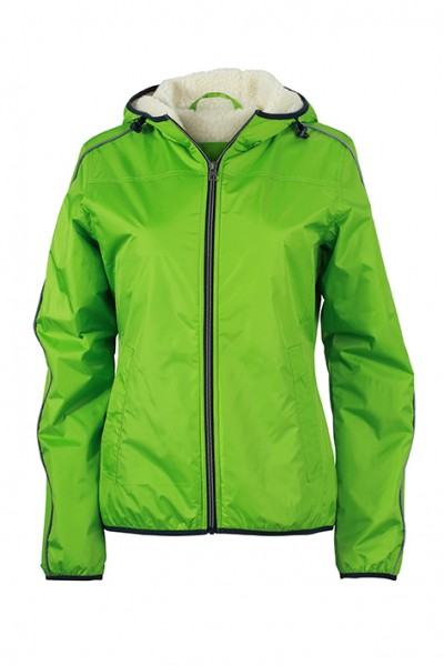 Ladies' Winter Sports Jacket, Jacken, spring-green/off-white