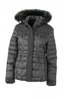 Ladies' Wintersport Jacket, Jacken, black/black