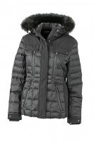 Ladies' Wintersport Jacket, Jacken, black/black