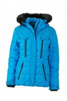 Ladies' Wintersport Jacket, Jacken, aqua/black