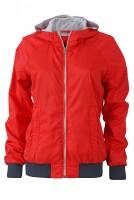 Ladies' Sports Jacket, Jacken, light-red/navy