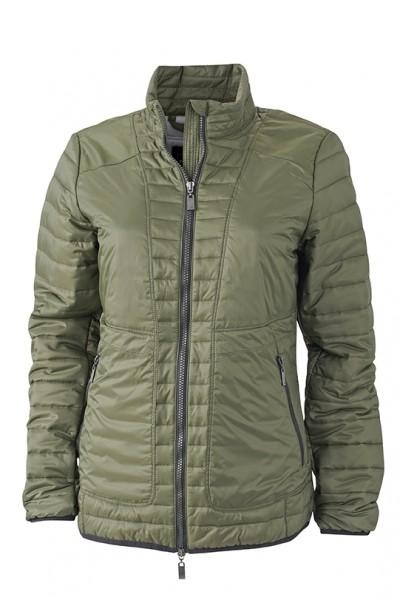 Ladies' Lightweight Jacket, Jacken, olive/silver
