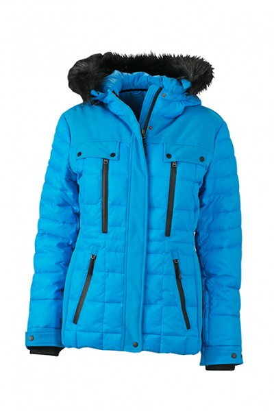 Ladies' Wintersport Jacket, Jacken, aqua/black