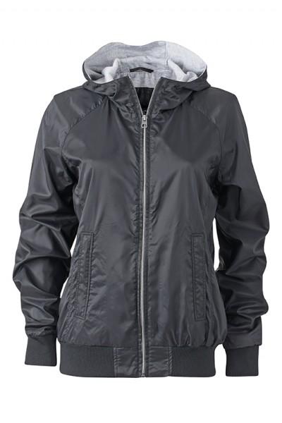 Ladies' Sports Jacket, Jacken, black/black