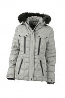 Ladies' Wintersport Jacket, Jacken, silver/black